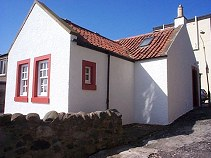 Castaway self-catering cottage, Lower Largo, Fife, Scotland, UK